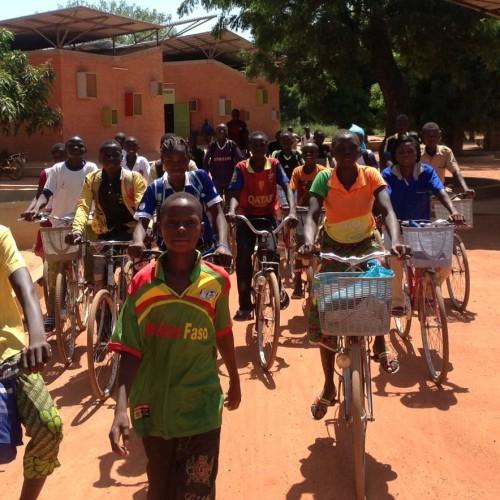Fahrräder für unsere Patenkinder