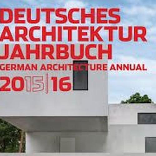 Präsentation unserer Klinik im Deutschen Architekturjahrbuch 2015/2016