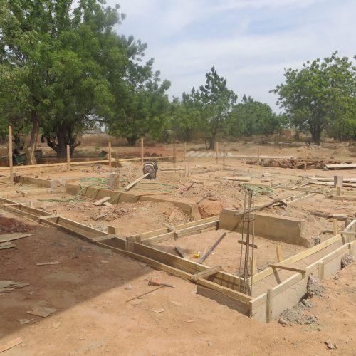Baubeginn der Maternité