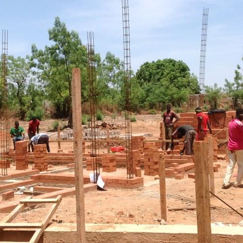 Baufortschritt Neubau Maternité