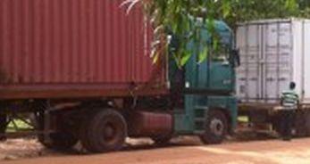 Unser Container ist in Burkina Faso angekommen